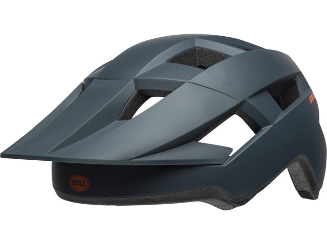 Bell Spark MIPS Fietshelm, matte slate/orange